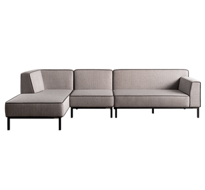 OBLIQUE SOFA SET3