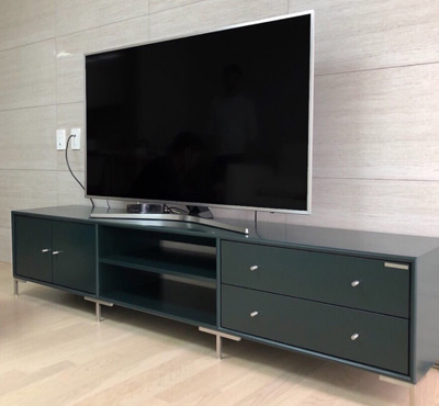 MODULE TV STAND - DEEP GREEN