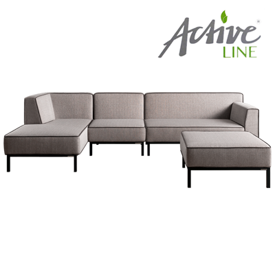 OBLIQUE SOFA SET4 by Höpke