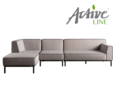 OBLIQUE SOFA SET3 by Höpke