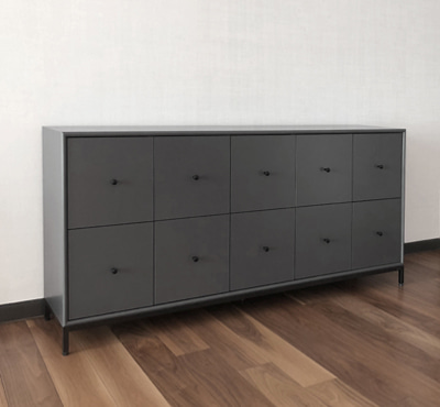 5x2 STORAGE - DARK GRAY